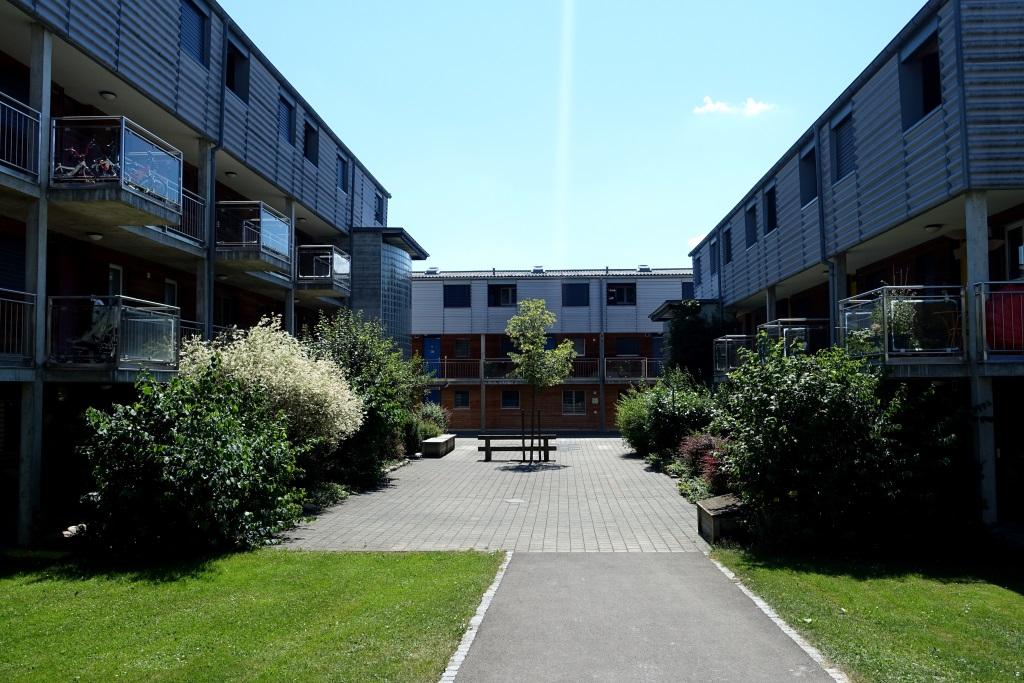 Appartement subventionné de 2 pièces au rez-de-chaussée
